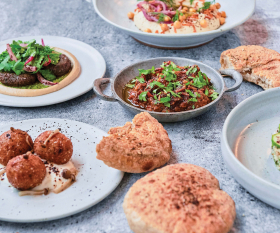 Shook restaurant review | A spread of vegetarian Middle Eastern fare from Shook in Toronto