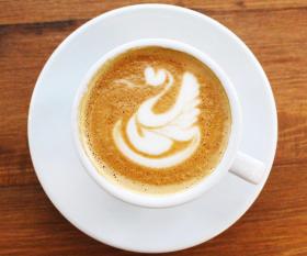 Barocco X Nino, Italian café and trattoria | A beautiful latte from Barocco X Nino