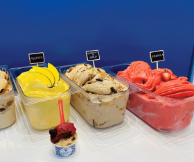 Toronto's coolest gelato by neighbourhood   Classic flavours at Mizzica Gelateria & Cafe