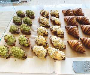 Emmer and Ash bakery on Harbord Street   A selection of twice-baked croissants