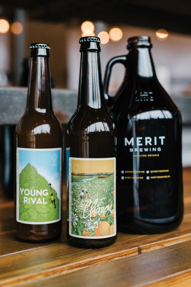 Diversity in Beer: A selection of beers from Merit Brewing