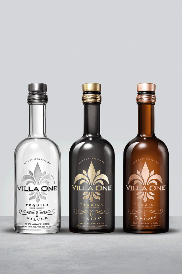Nick Jonas and John Varvatos's Villa One Tequila's silver, reposado and añejo are available in Canada