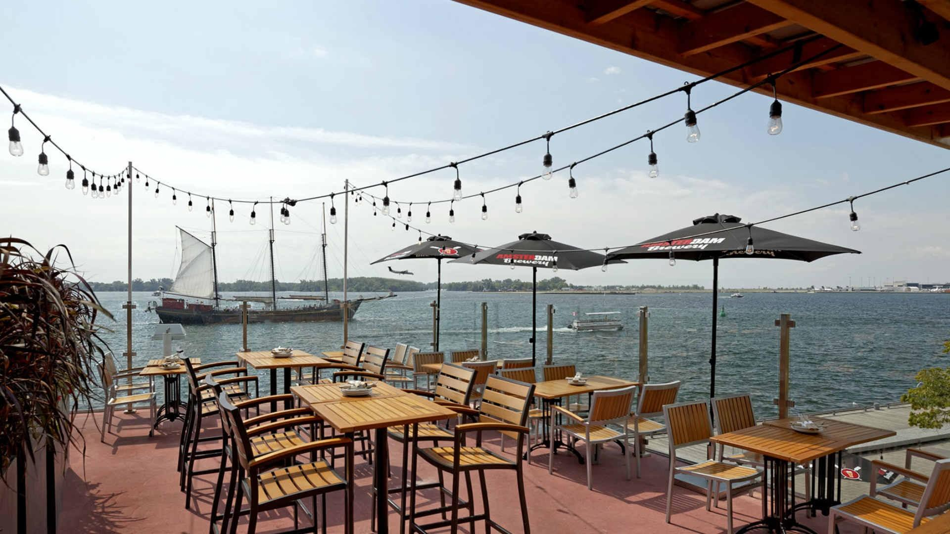 The best patios in Toronto: Amsterdam BrewHouse