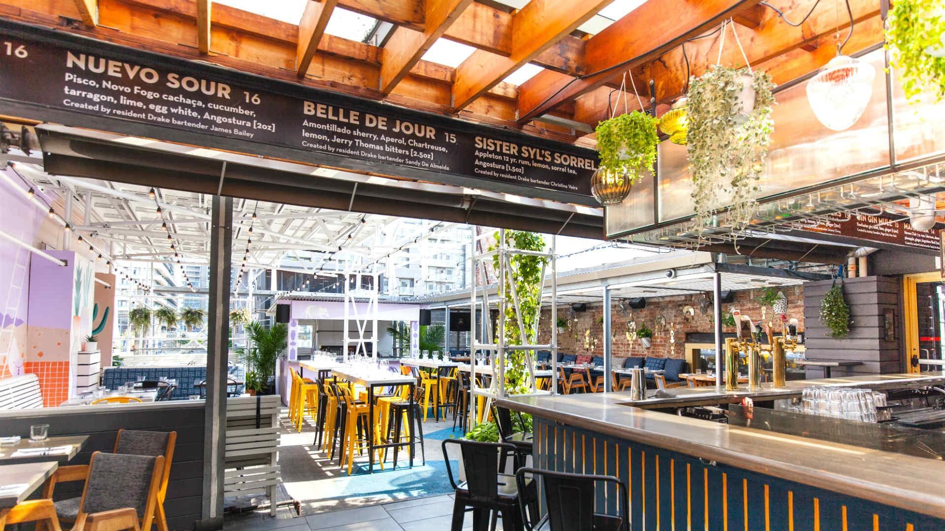 The best patios in Toronto: Drake Sky Yard