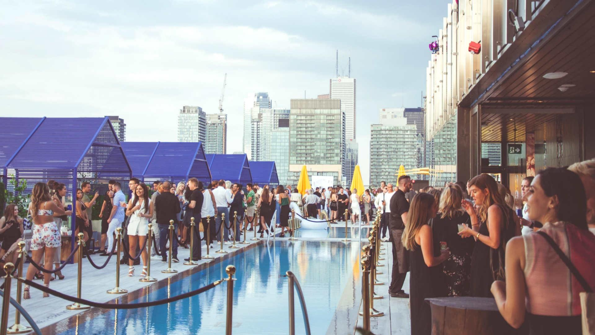 The best patios in Toronto: Lavelle