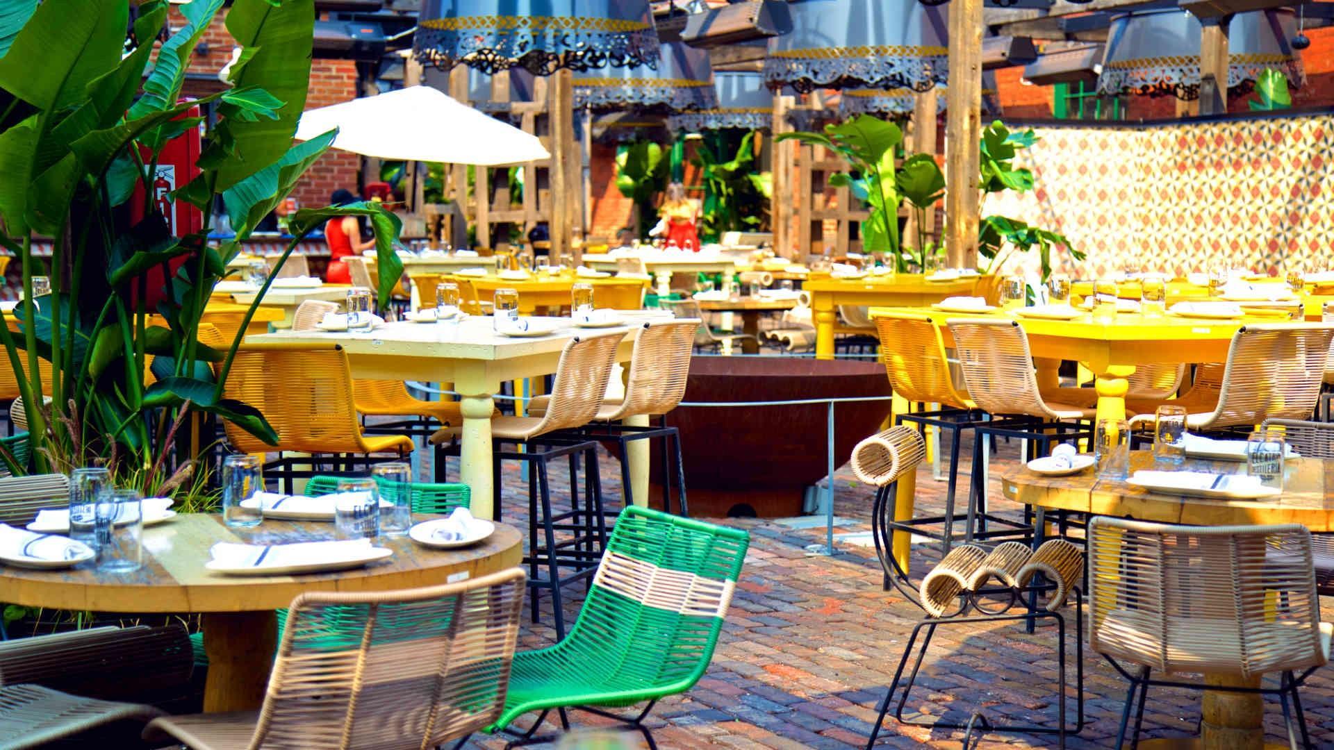 The best patios in Toronto: El Catrin
