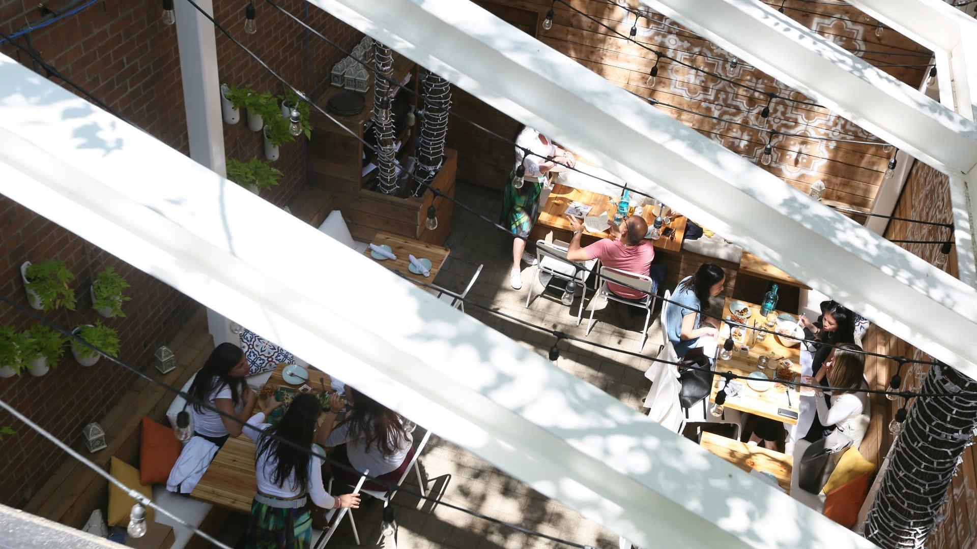 The best patios in Toronto: Bar Reyna