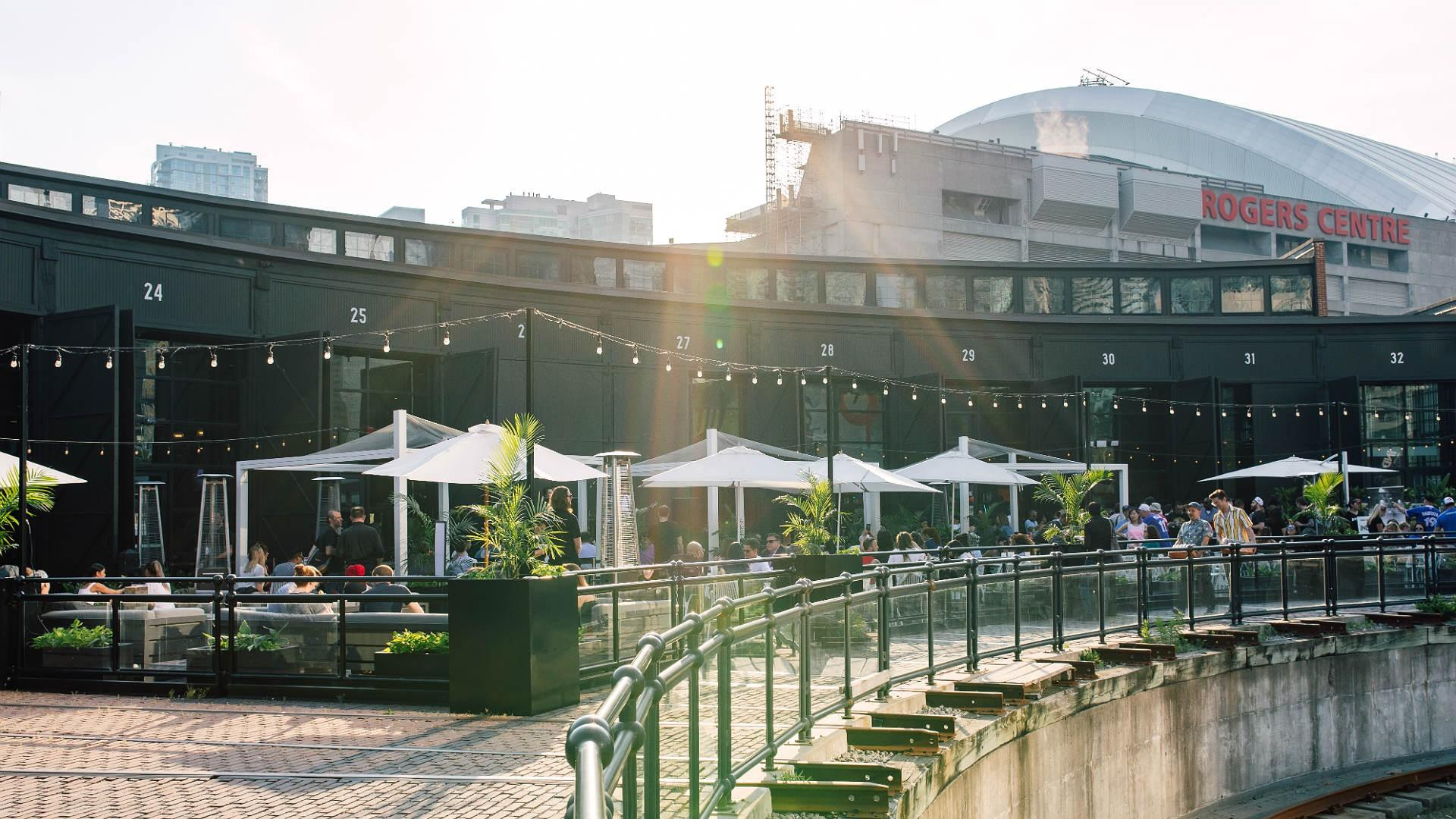 The best patios in Toronto: The Rec Room
