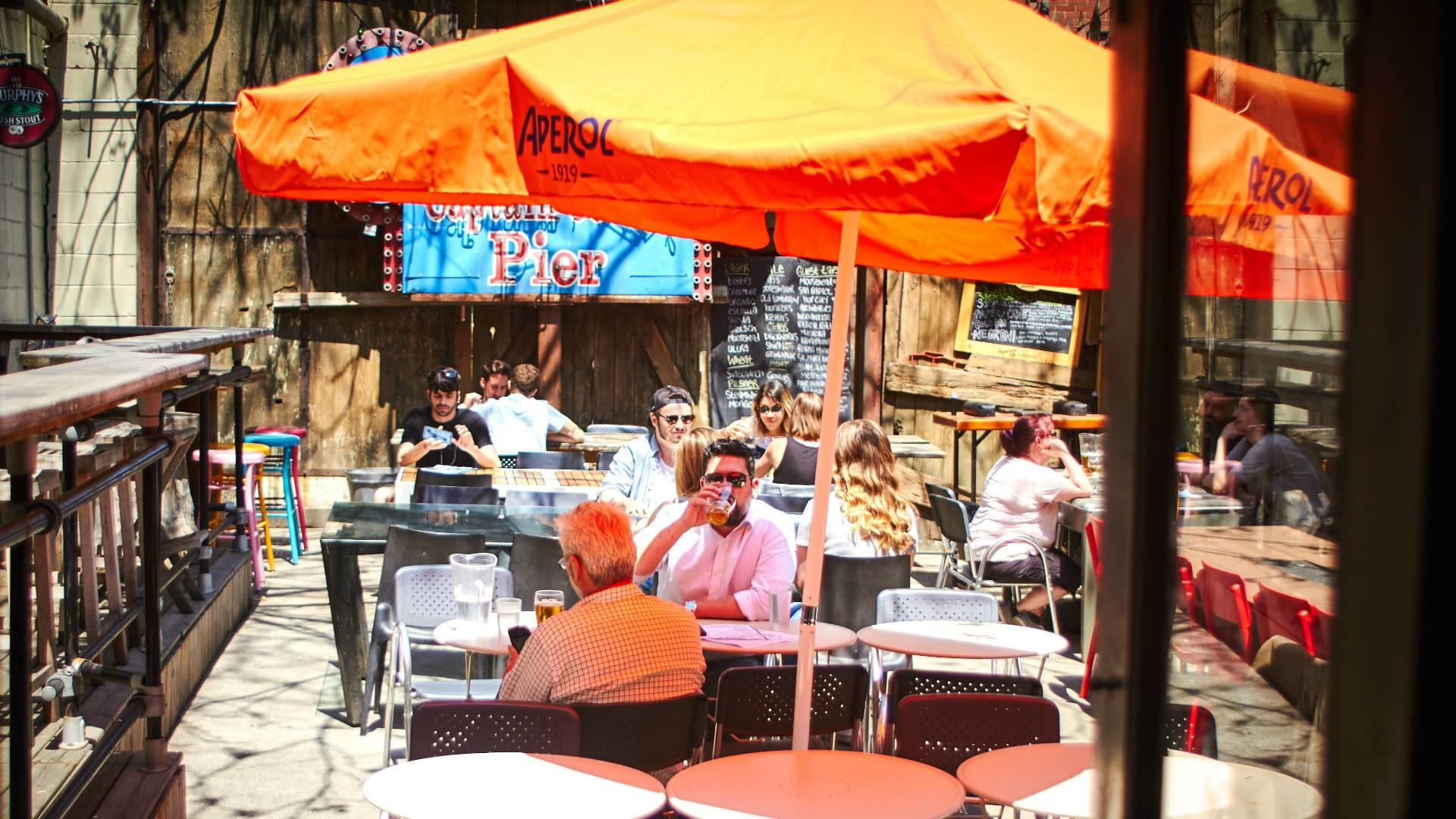 The best patios in Toronto: Betty's on King
