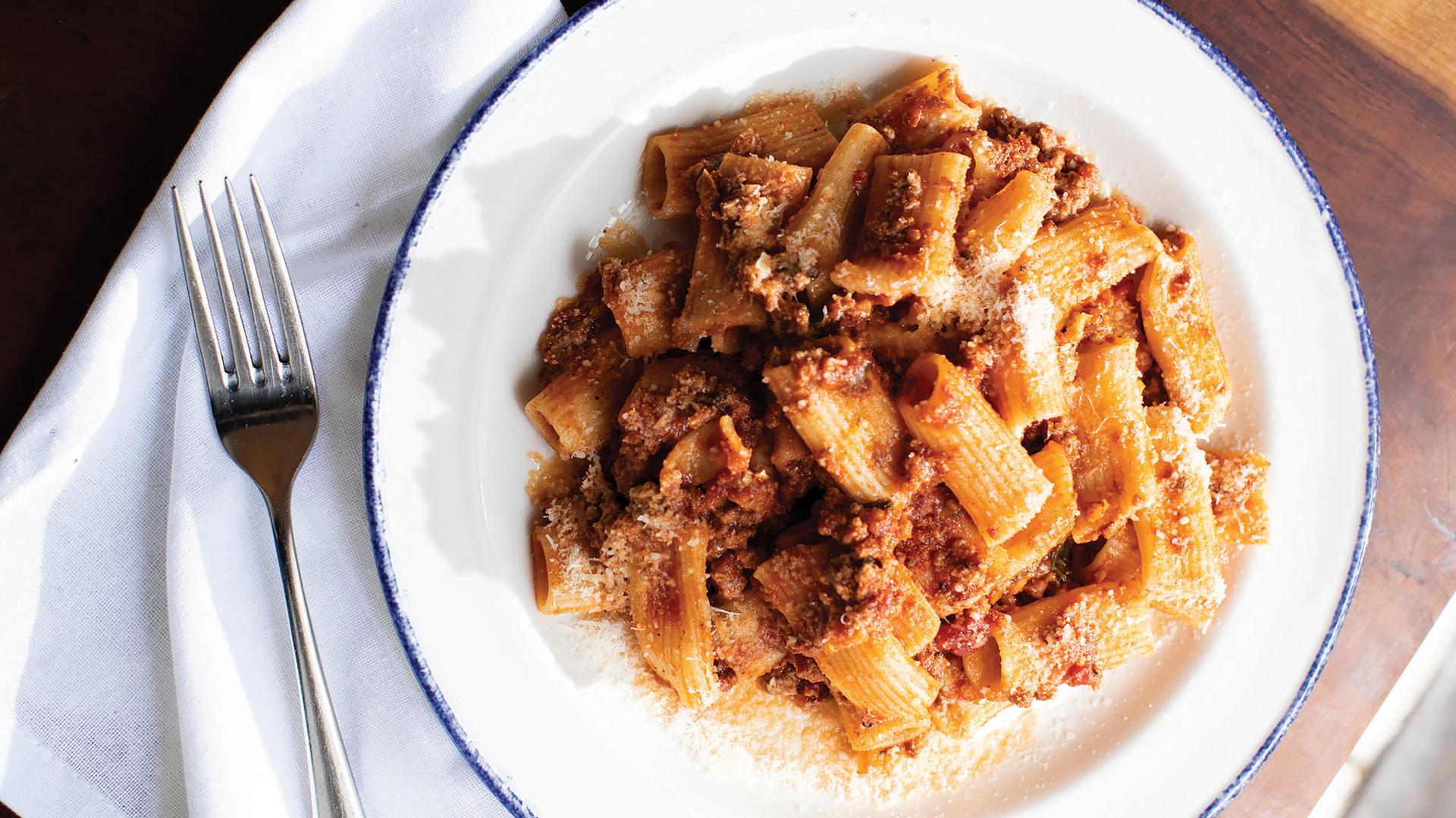 The best Italian restaurants in Toronto for pasta | Rigatoni bolognese at Trattoria Nervosa