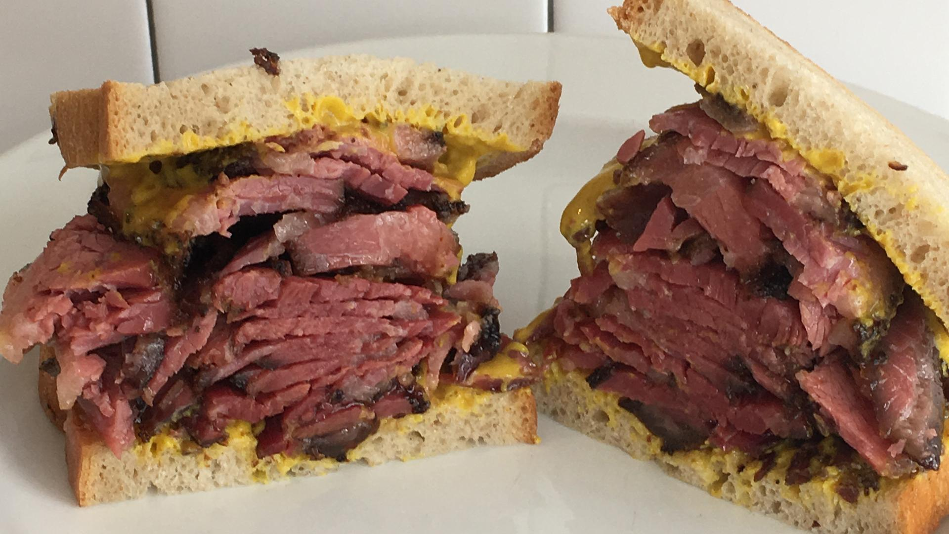 The best sandwiches in Toronto | A sandwich from When the Pig Came Home