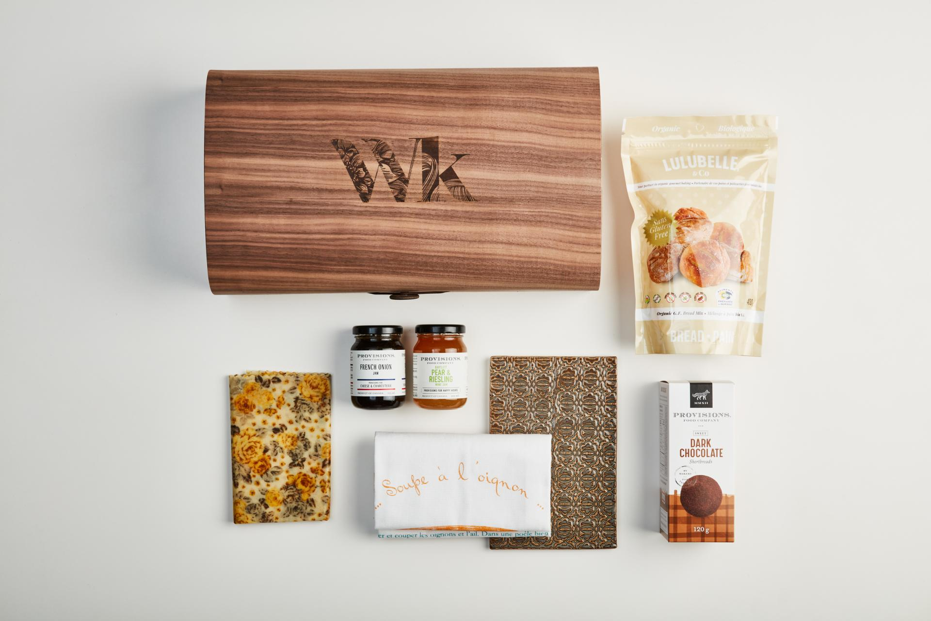 A gift set from Wonderkind