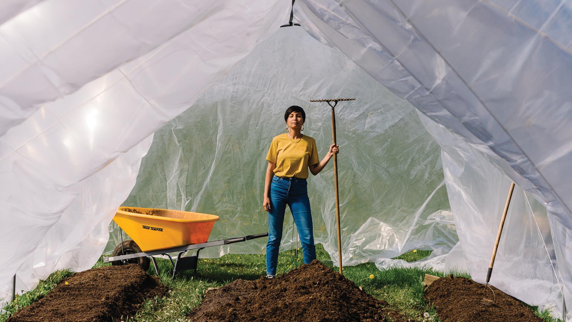The future of farming is BIPOC | Aminah Haghighi farming in P.E.C.
