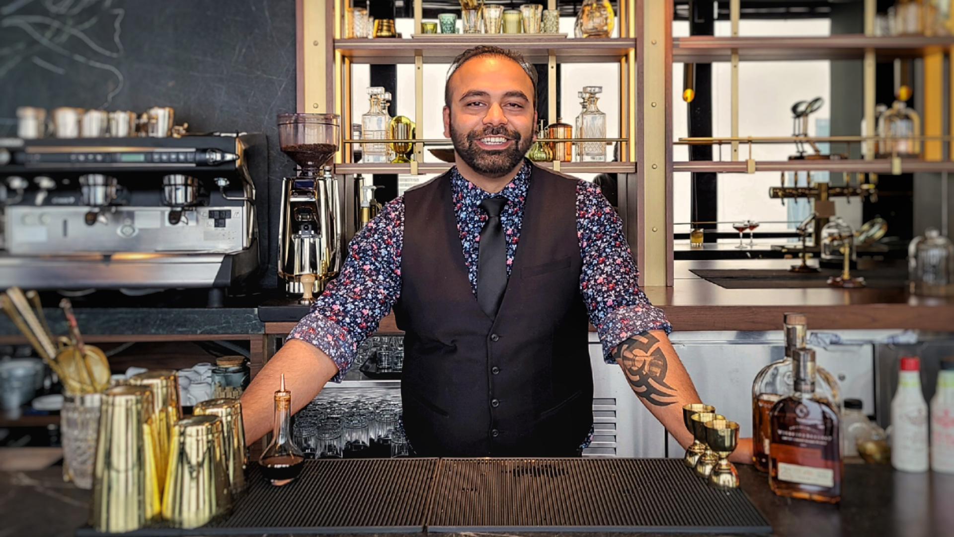 Ontario distilleries   Raj Rijhwani, bartender at Maison Selby