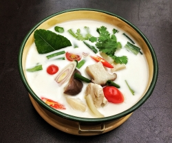 Make This: Pai's Thai Coconut Chicken Soup (Tom Kha Gai)