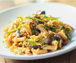 Make This: JOEY's Pan Roasted Mushroom Pasta