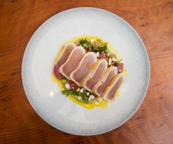 Make This: Montecito's Seared Albacore Tuna and Mixed Grain Salad