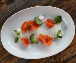 Make This: Marben's Gin Cured Rainbow Trout