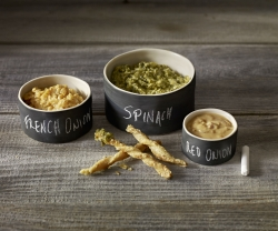 Weapons of Choice: Petite Maison Chalkboard Trio Bowl
