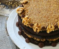 Summerhill Market's German Chocolate Cake