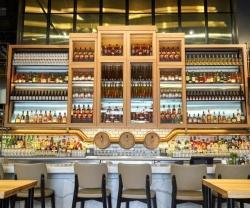 The bar inside Northern Maverick