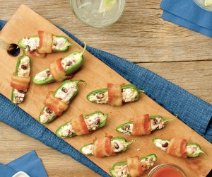 These salty, spicy appetizers are simple to make but guaranteed to impress guests at your next gathering or BBQ.