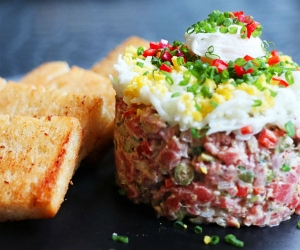 Make This: STK's Beef Tartare
