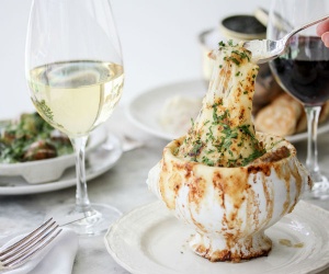 Maison Selby's French onion soup recipe