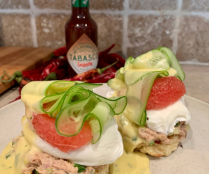 Romain Avril's Canned Tuna Benny's quarantine recipe