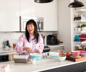 In the kitchen with TV host Pay Chen