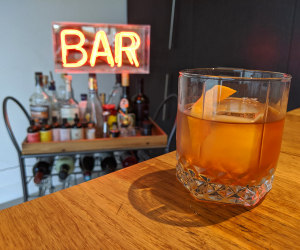 CN Tower's Distillery Maple Old Fashioned cocktail recipe