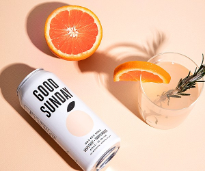 Good Sunday Dry Gin Soda Grapefruit