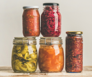 Fermentation | Ferments in jars