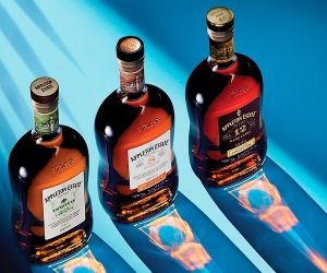 Appleton Estate: the lineup of rums