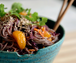 Cory Vitiello's Soba Noodle and Mandarin Orange Bowl | Dole Sunshine for All campaign
