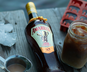 Amarula Cream Liqueur in an iced coffee