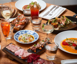 Best farm-to-table restaurants Toronto | A selection of dishes at Richmond Station