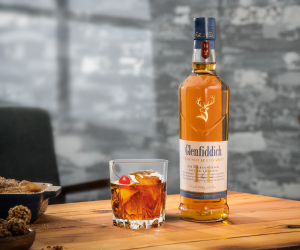 Glenfiddich 14 Year Old Bourbon Barrel Reserve Manhattan recipe