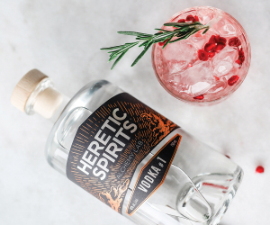 Heretic Spirits gin and vodka | Heretic Vodka #1 cocktail