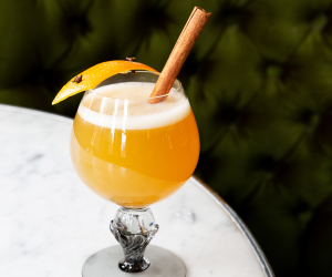 Hot toddy recipe from Maison Selby