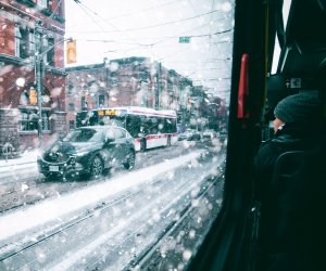 19 Things to do in Toronto this February | Riding the TTC in the winter