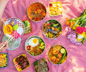 Must-try picnic baskets from Toronto restaurants | Assorted picnic dishes from Jatujak