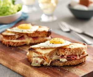 Easy fall recipes | Croque madame sandwich with eggs from Ontario farms