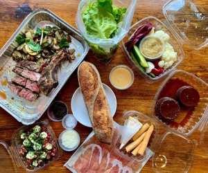 Estrella Damm Culinary Journey   A spread of Italian and Spanish fare at Campo Restaurant