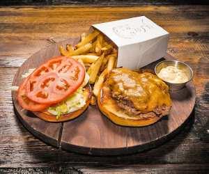 Estrella Damm Culinary Journey   A burger at The Good Son, Don Mills