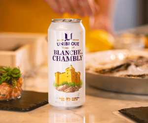 Unibroue's Blanche de Chambly from Quebec